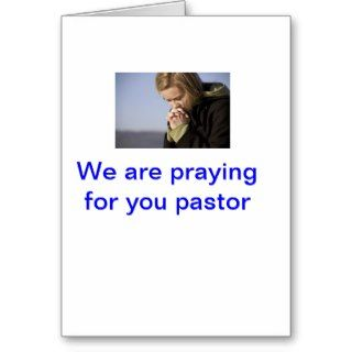 pastor appreciation greeting card
