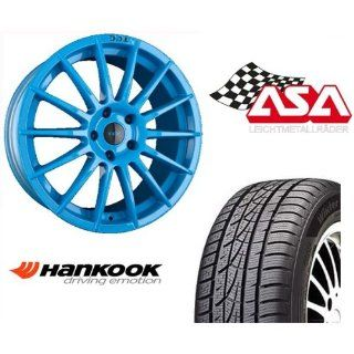 ET45, Smurf Light Blue, Hankook W310 225/65R17 102 H: Auto