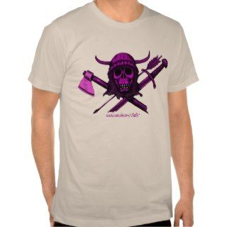 Viking skull cool t shirt
