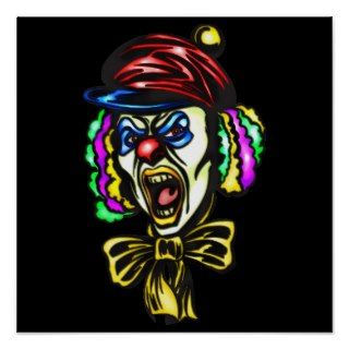 Dangerous Evil Clown Poster