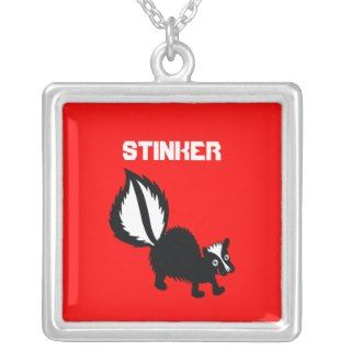 Cute Stinker Skunk Animal Kawaii Cartoon Art Jewelry