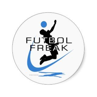 Soccer   Futbol Freak   Boys   Blue Sticker