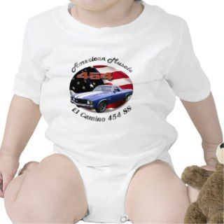 Chevy El Camino 454 SS Infant Creeper