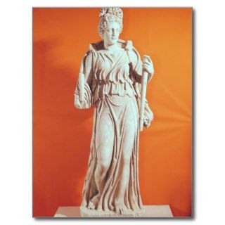 Statue of Hecate Post Card