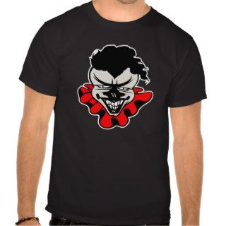 Evil Clown Black T Shirts