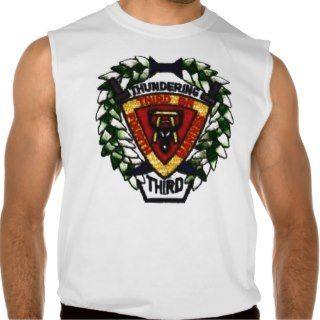 THUNDERING 3rd 4th MARINES Sleeveless T shirts