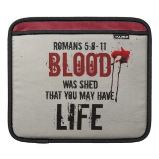 Romans 5:8 11 Bible Verse iPad Sleeve