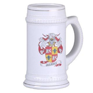 Mendez Family Crest Mugs