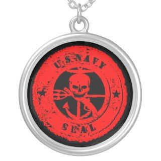 US NAVY SEALS SKULL/bloody Jewelry