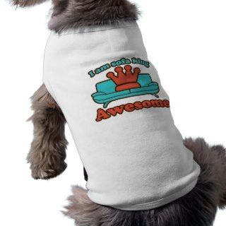 Sofa King Awesome Doggie Tee Shirt