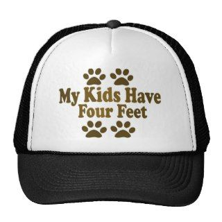 All my Kids Have Four Feet Mesh Hats