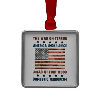 Jihad At Fort Hood Christmas Tree Ornament