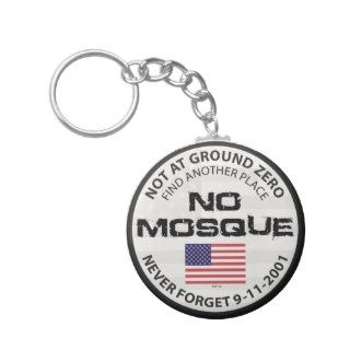 No Mosque At Ground Zero Key Chain