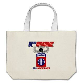 82nd Airborne Jump Wings Bags