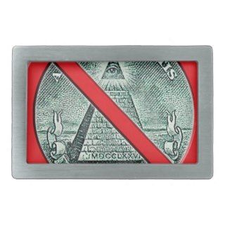 Anti Illuminati Belt Buckle
