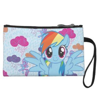 Rainbow Dash Wristlet Purse