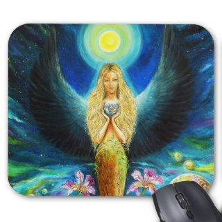 Healing Angel Mousepads