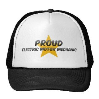 Proud Electric Motor Mechanic Hat