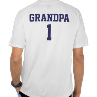 Funny Grandpa personalized sports jersey Shirt