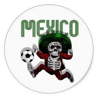 Mexico Soccer El tri Futbol Beyond Death gifts Sticker