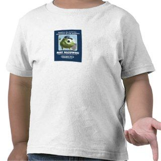 Monsters Inc. Mike Wazowski Assistant of the Month Tshirts