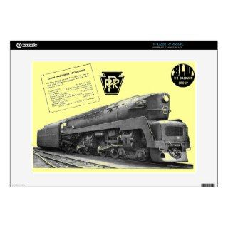 Baldwin Pennsylvania Railroad T 1 Steam Locomotive Skin For 15 Laptop