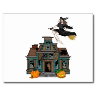 Haunted house post cards