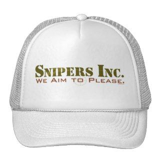 Snipers, Inc. Mesh Hats
