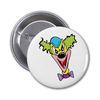 Evil Clown Pins