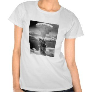 Mushroom Cloud Over Nagasaki    WW2 Shirt