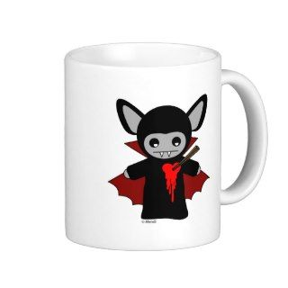 Cute Lil Vampire Bat Mugs