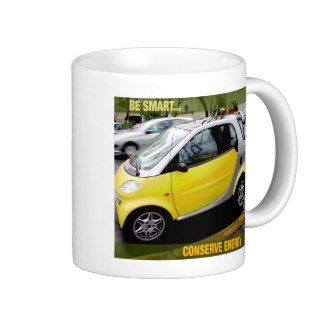 Be SmartConserve Energy Coffee Mug
