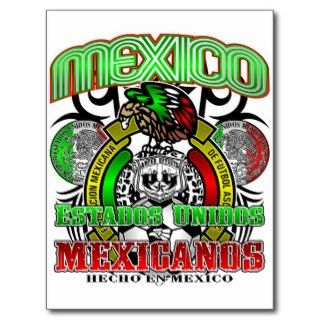 MEXICO FUTBOL POST CARDS