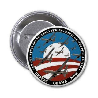Anti Obama drone swarm Buttons