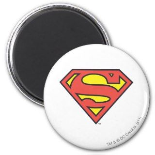 Superman Logo Fridge Magnet