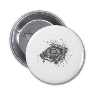 Pioneer CDJ 1000 Graffiti Button