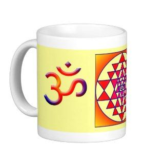 Sri Yantra/Cosmic Om Coffee Mug