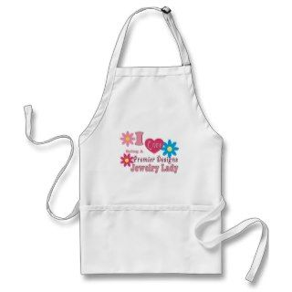 Love Being A Premier Designs Jewelry Lady Series Apron