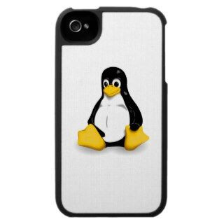Tux the Linux penguin iPhone 4 Covers