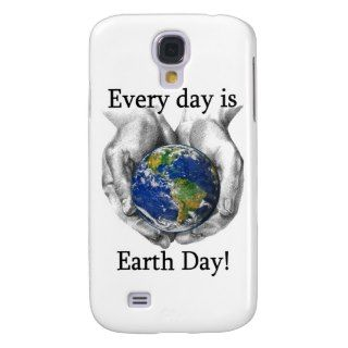 Every day is Earth Day Samsung Galaxy S4 Covers