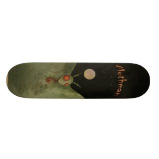 Mothman in the Moonlight Skateboard