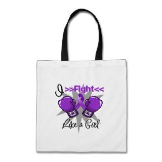 Lupus I Fight Like a Girl With Gloves Bag