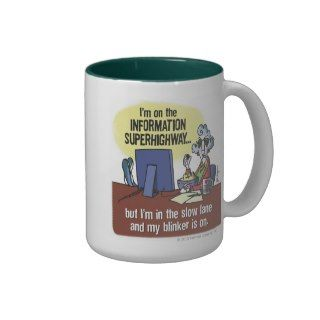 Maxine Information Superhighway Coffee Mugs