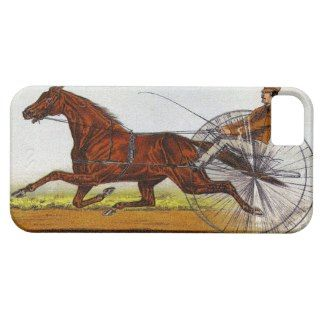 Vintage Sulky Horse Racing iPhone 5/5S Cases