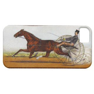 Vintage Sulky Horse Racing iPhone 5 Case
