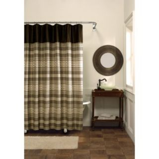 Maytex Mills Blake Fabric Shower Curtain   Fabric Shower Curtains at