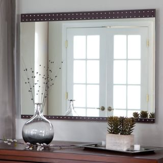 Julia Large Modern Wall Mirror   39.5W x 29.5H in.   Wall Mirrors at