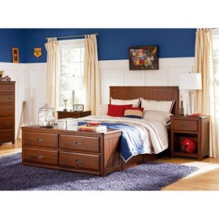 Dillon Panel Platform Bed   Trundle Beds