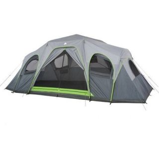 Ozark Trail Instant Cabin Camping Tent 12 Person 20'x10' Fit 3 Queen Air Bed