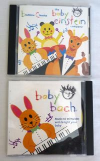 Lot 2 Baby Bach Baby Einstein Classical Music CDs for Kids